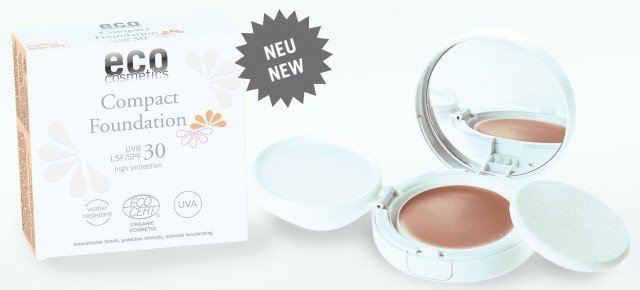 NEU: Eco Compact FoundationNEW: Eco Compact Foundation