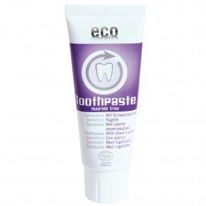 Toothpaste fuoride free